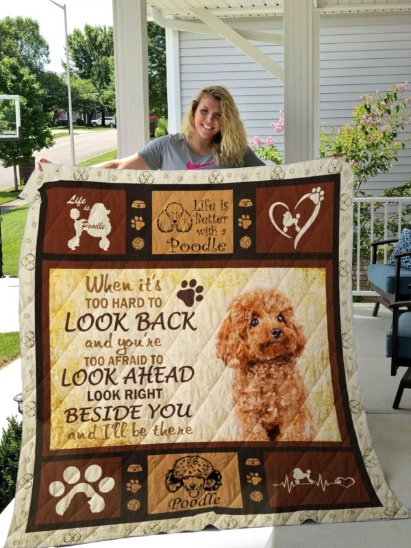 Dog-Blanket Quilt-Poodle Edition 09142019