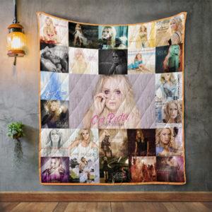 Carrie Underwood Quilt Blanket 01