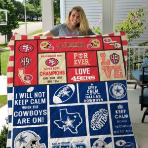 Dallas Cowboy Custom Blanket 01