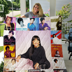 Shirley Caesar Albums Quilt Blanket 01