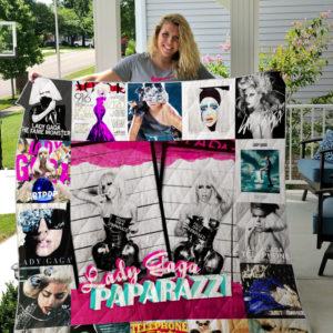 Gaga Custom Quilt Blanket