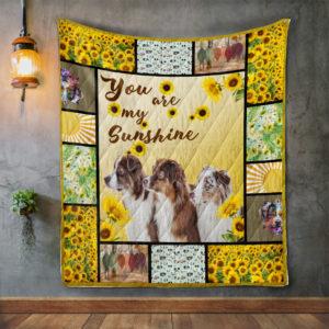 Australian Shepherd Quilt Blanket