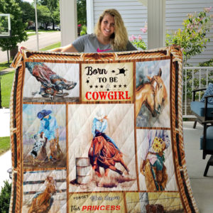 Born to be a Cowgirl Special Quilt Blanket