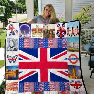 British- Custom quilt 01