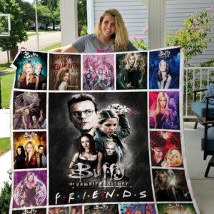 Buffy the Vampire Slayer Quilt Blanket 01701