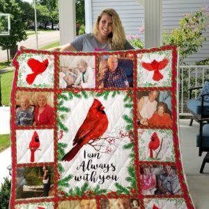 Cardinal quilt- custom quilt