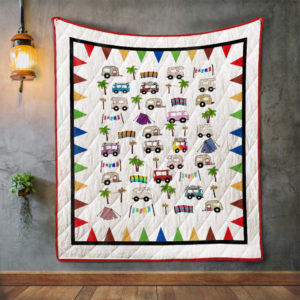 Cute Camping Quilt