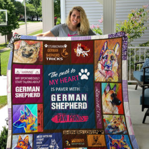 German Shepherd Quilt