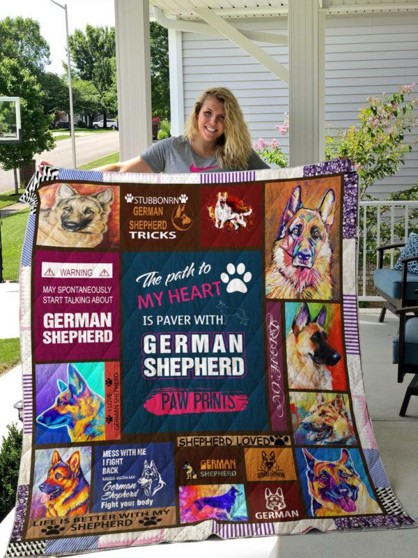 German Shepherd Quilt