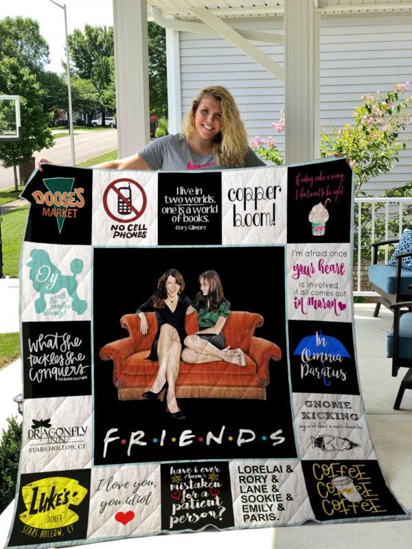 Gilmore Girls Quilt Blanket 01628