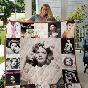 Judy Garland Albums Quilt Blanket For Fans Ver 17