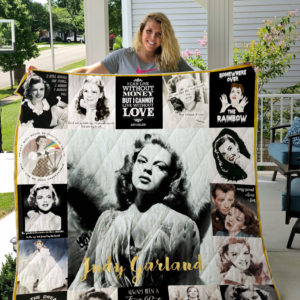 Judy Garland Quotes Blanket