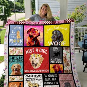 Labrador Quilt Blanket