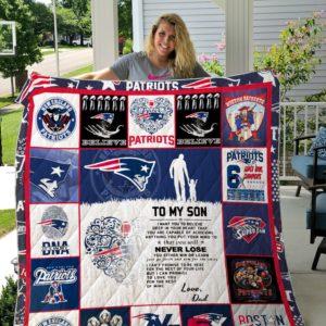 New England Patriots custom Quilt 04