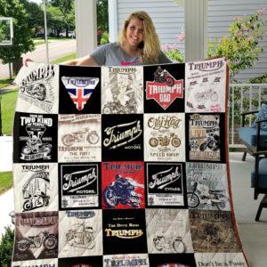 Triumph quilt blanket ver25