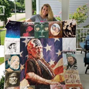 Willie Nelson Blanket For Fans Ver 17