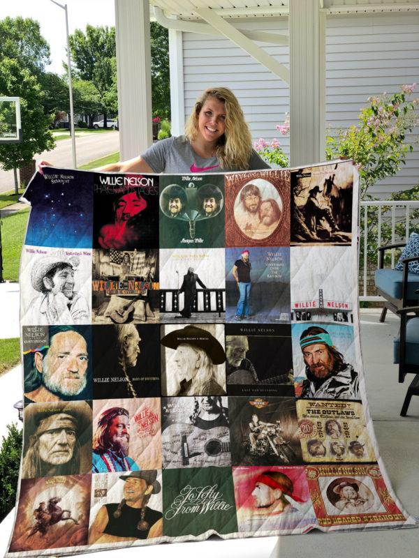 Willie Nelson Blanket For Fans Ver 25