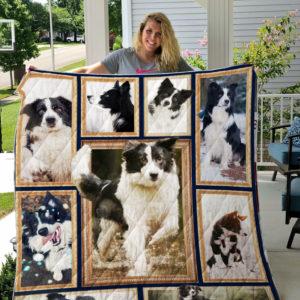Border Collie Blanket