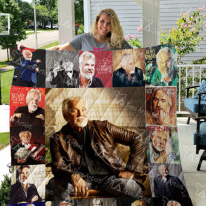 Kenny Rogers Quilt Blanket 03