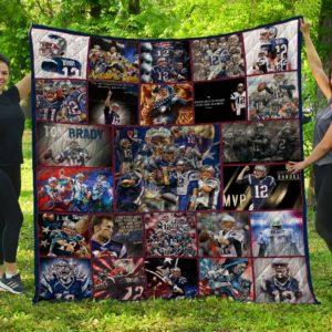 Tom Brady NEP Quilt Blanket 02