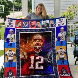 Tom Brady NEP Quilt Blanket 03