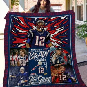 Tom Brady NEP Quilt Blanket