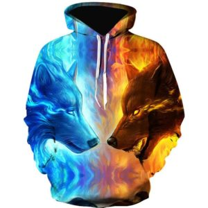 Wolf Style 2 3d Hoodie