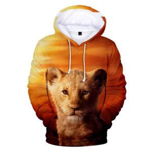 Little Lion 3d Hoodie