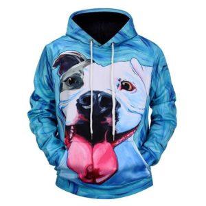 Bulldog 3d Hoodie