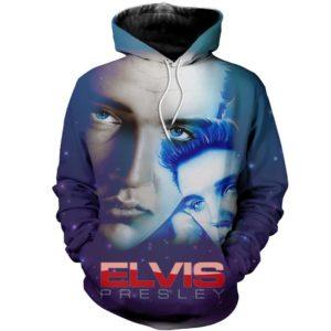 Elvis Presley Style 5 3d Hoodie