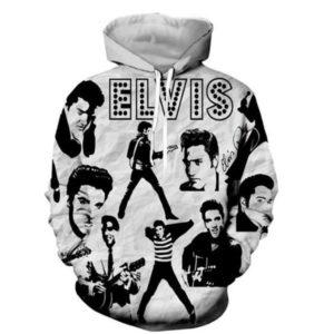 Elvis Presley Style 6 3d Hoodie