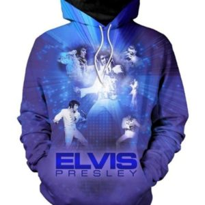 Elvis Presley Style 7 3d Hoodie