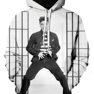 Elvis Presley Style 8 3d Hoodie