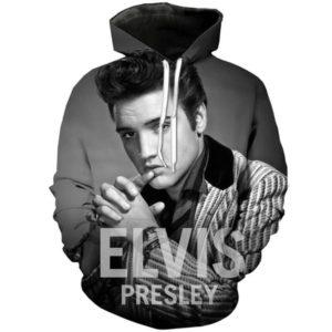 Elvis Presley Style 9 3d Hoodie
