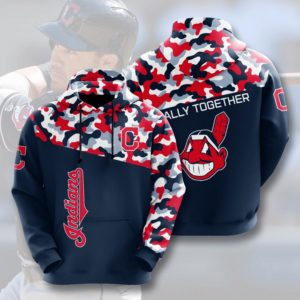 Mlb- Cleveland Indians 3d Hoodie Style 02