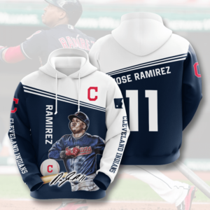 Mlb- Cleveland Indians 3d Hoodie Style 05