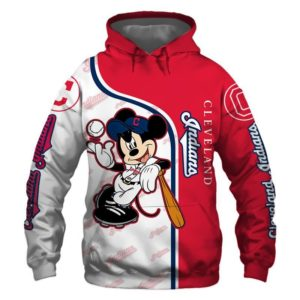 Mlb- Cleveland Indians 3d Hoodie Style 07