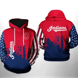 Mlb- Cleveland Indians 3d Hoodie Style 08