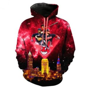 Mlb- Cleveland Indians 3d Hoodie Style 10