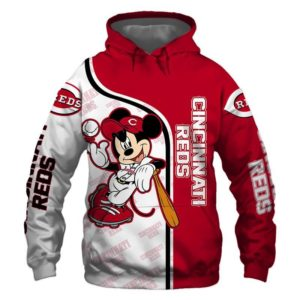 Mlb- Cincinnati Reds 3d Hoodie Style 08