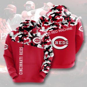 Mlb- Cincinnati Reds 3d Hoodie Style 10