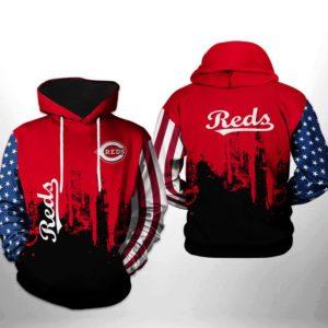 Mlb- Cincinnati Reds 3d Hoodie Style 07