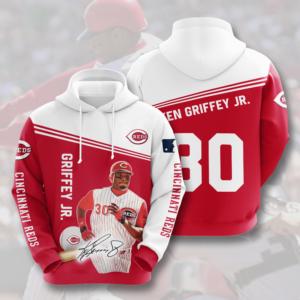 Mlb- Cincinnati Reds 3d Hoodie Style 05