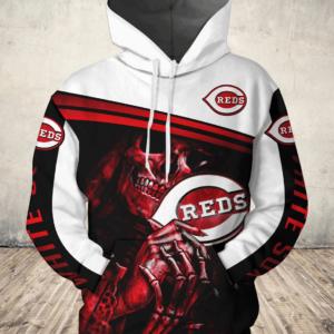 Mlb- Cincinnati Reds 3d Hoodie Style 11