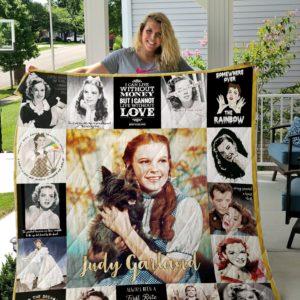 Judy Garland Quilt Blanket For Fans Ver 18
