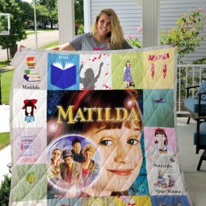 Matilda Quilt Blanket For Fans