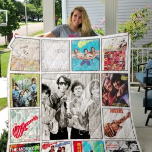 The Monkees Albums Quilt Blanket 02