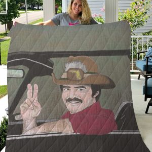 Smokey And The Bandit Quilt Blanket For Fans 12