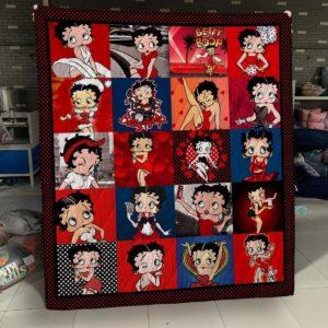 Betty Boop All Season Plus Size Quilt Blanket