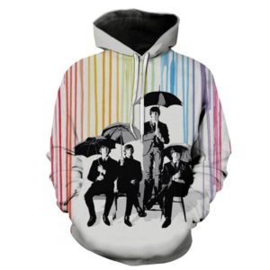 The Beatles Style 4 3d Hoodie C